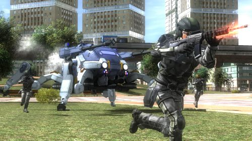 Earth Defense Force 4.1 and Earth Defense Force 2 Both Set for Release on December 8