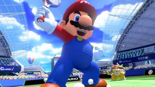 Nintendo Downloads Bring Mario Tennis, Typoman, and Street Fighter to the Party