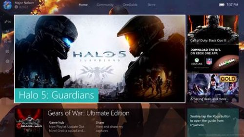 New Details For the New Xbox One Experience