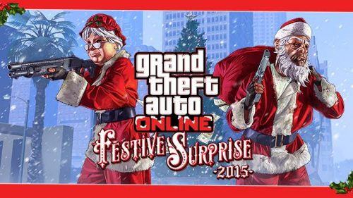 Grand Theft Auto Online Getting in the Holiday Spirit with Festive Surprise 2015