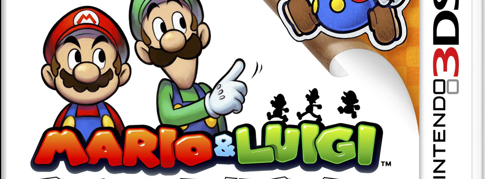 Mario Luigi Paper Jam Capsule Computers