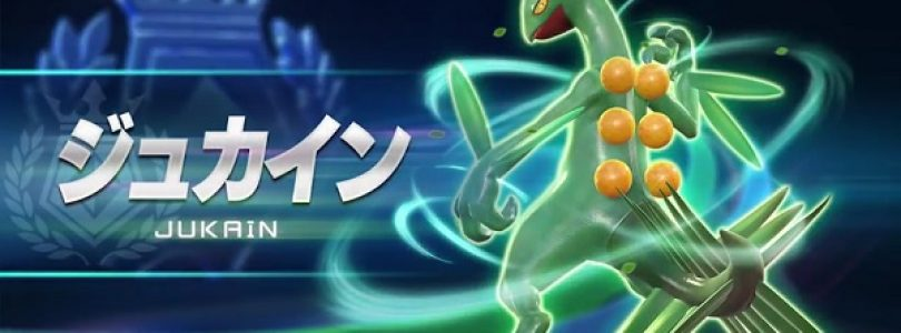 Pokken Tournament Adds Sceptile to the Roster