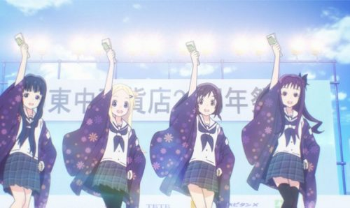 Sentai Filmworks Reveals the 'Hanayamata' English Dub Cast
