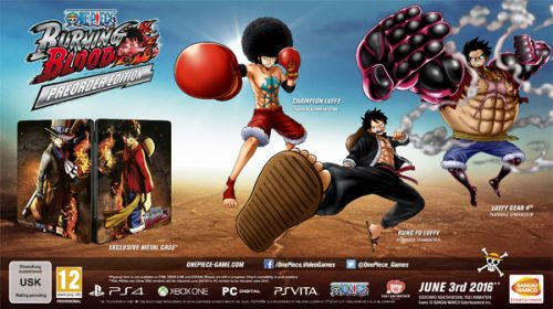 One Piece: Burning Blood June 3rd Release Date Announced