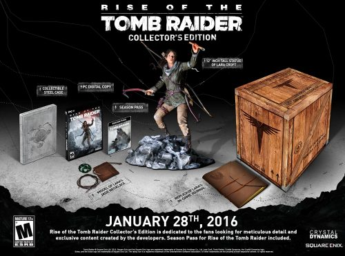 Rise of the Tomb Raider Arrives on PC January 28th