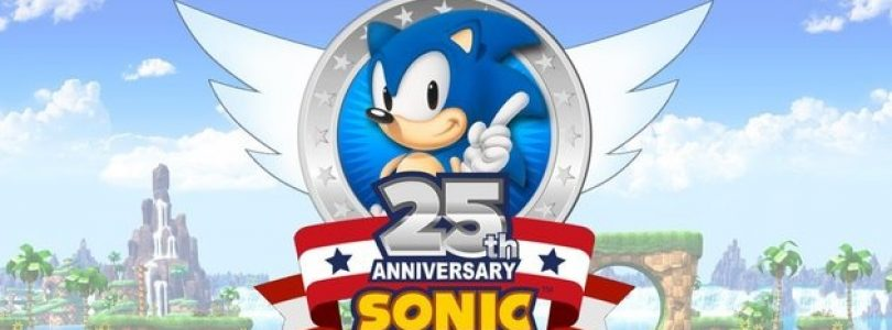 Sega Release New Logo for Sonic's 25th Anniversary Celebration