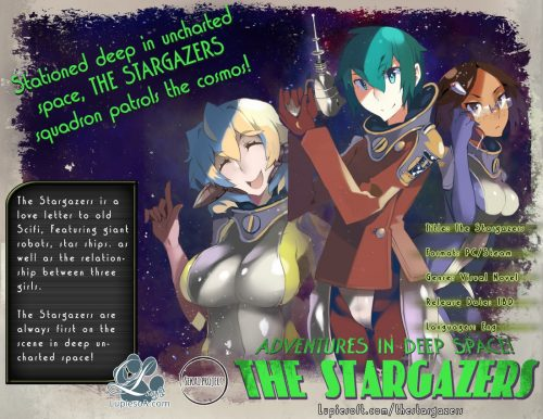 Lupiesoft's Latest Visual Novel 'The StarGazers' Placed on Steam Greenlight