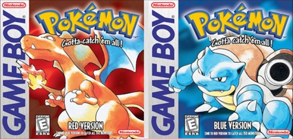 Pokemon-Red-Blue- Covers