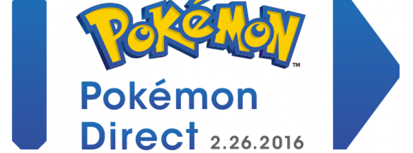 New Pokemon Direct Coming this Weekend