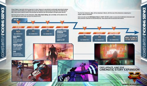 """Street Fighter V's Upcoming Story Expansion """"One to Two Hours"""" to Complete"""
