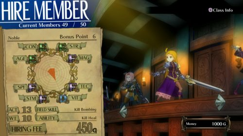 Grand Kingdom's Battle System Introduced in Latest Trailer