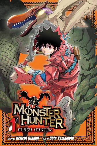 Monster-Hunter-Flash-Hunter-volume-1-cover