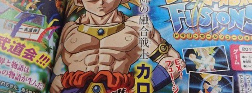 Goku and Broly Fuse into Karolli in Dragon Ball Fusions