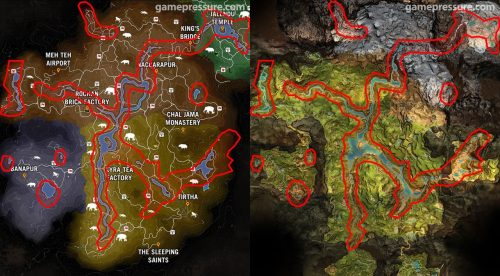 Far Cry Primal Map Recycled from Far Cry 4