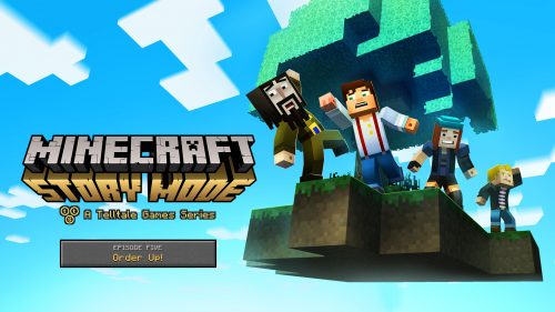 Minecraft: Story Mode's Fifth Episode Coming on March 29th, Three More Announced