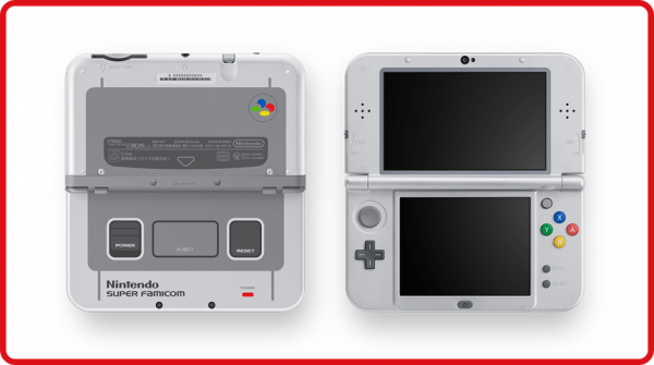 Super Famicom Themed New Nintendo 3DS XL Announced for Japan – Capsule Computers