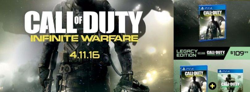 Call of Duty: Infinite Warfare Leaked, to Include Modern Warfare Remastered