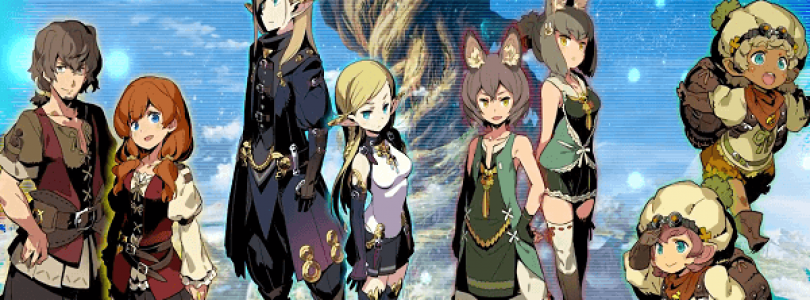 Etrian Odyssey V's Dragoon Class, Race, and Union Skills Introduced