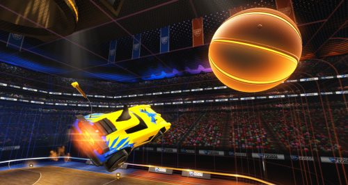 Rocket League Gets Basketball Mode in April Patch