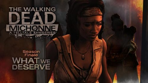 The Walking Dead: Michonne's Third and Final Episode Arrives on April 26