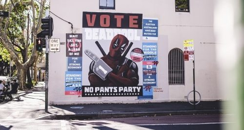New Deadpool Mural to Celebrate DVD Launch