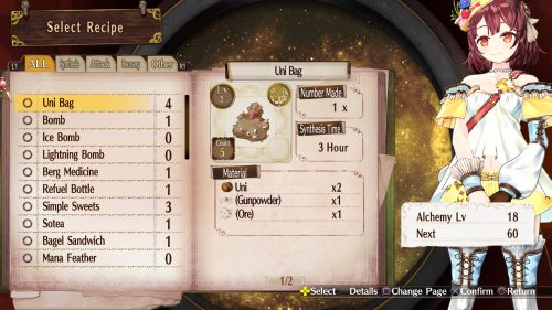 Atelier Sophie's Updated Alchemy System and Characters Introduced