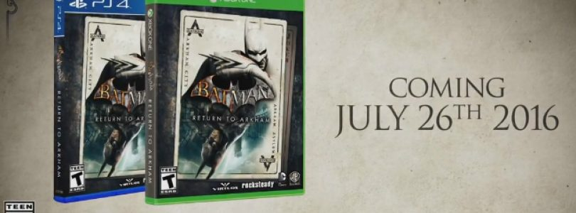 Batman Return to Arkham Remastered Collection Announced