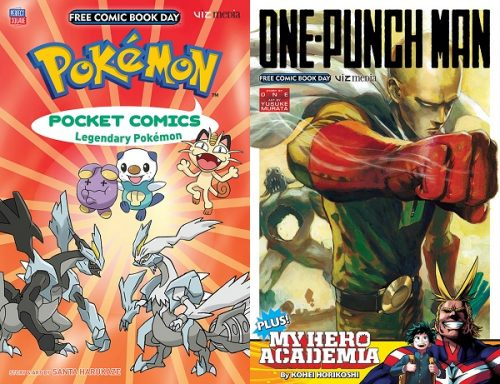 Viz Media Reveals Free Manga Samplers for Free Comic Book Day 2016