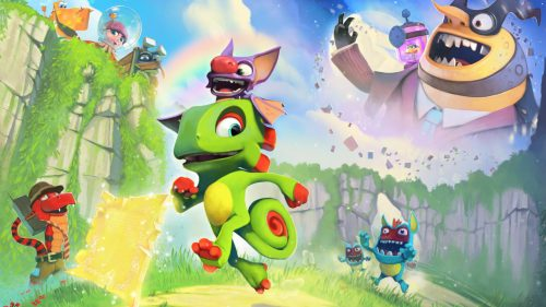 New Yooka-Laylee Characters, Screens and Plot Details