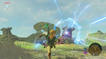 New The Legend of Zelda: Breath of the Wild Gameplay Footage