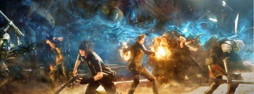 Final Fantasy XV E3 2016 Gameplay Video Highlights 'Titan' Battle