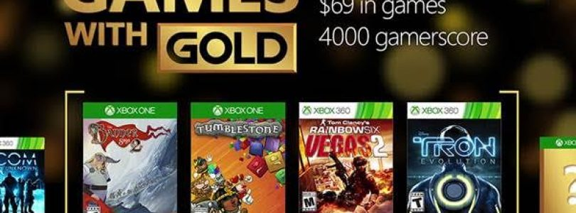 Xbox Games with Gold July 2016 Line Up Revealed