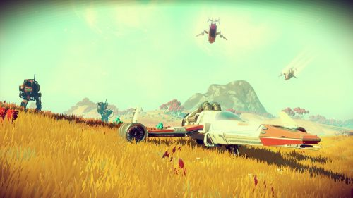 No Man's Sky 'Explore' and 'Fight' Trailers Released