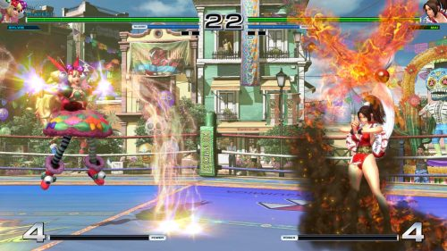 The King of Fighters XIV Story Mode and Antanov Videos Released