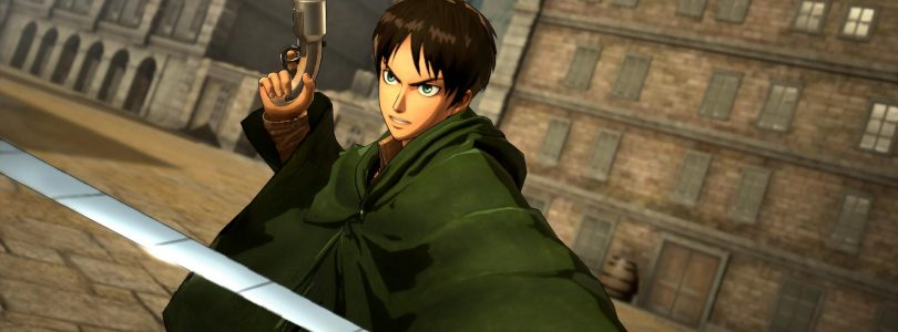 Attack on Titan's Latest Game Trailers Show off Levi, Hange, and Erwin