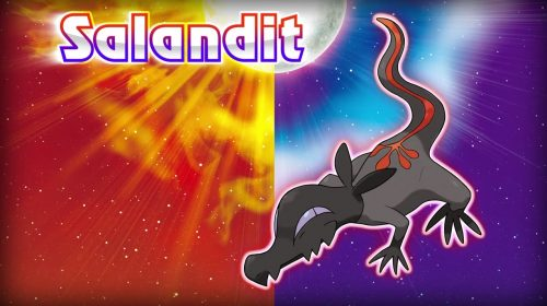 Salandit, a Poison and Fire Type Pokémon, Revealed for Pokémon Sun & Moon