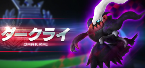 Darkrai Added to Arcade Pokken Tournament Roster