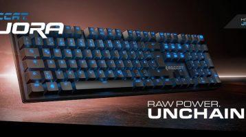 Roccat Suora Frameless Mechanical Keyboard Review