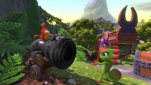 Yooka-Laylee Gamescom Trailer Focuses on Various Level Designs