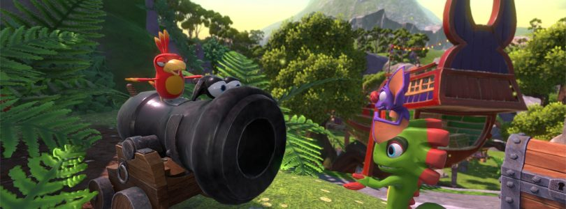 Yooka-Laylee Gamescom Trailer Focuses on Various Level Designs