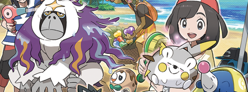 Latest Pokemon Sun & Moon Trailer Shows New Pokemon, Fashion and Z Moves