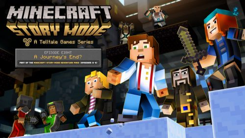 Minecraft: Story Mode Episode 8  'A Journey's End?' Release Date Announced