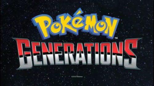 Pokemon Generations Mini Series Announced