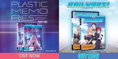 Hanabee Released 'Plastic Memories' Part One and 'Rail Wars' Today