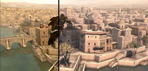 Assassin's Creed: The Ezio Collection Comparison Video Released