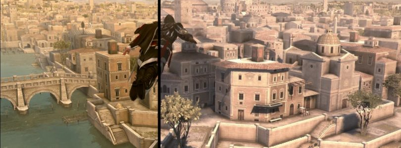 Assassin's Creed: The Ezio Collection Comparison Video Released
