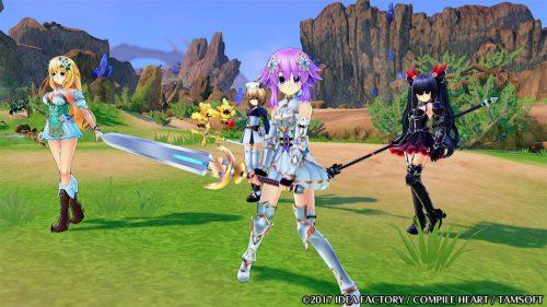 Four Goddesses Online: Cyber Dimension Neptune Debut Trailer