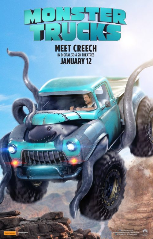 Meet the Monster in the Monster Truck Trailer