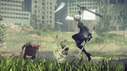 New NieR: Automata Screenshots Released