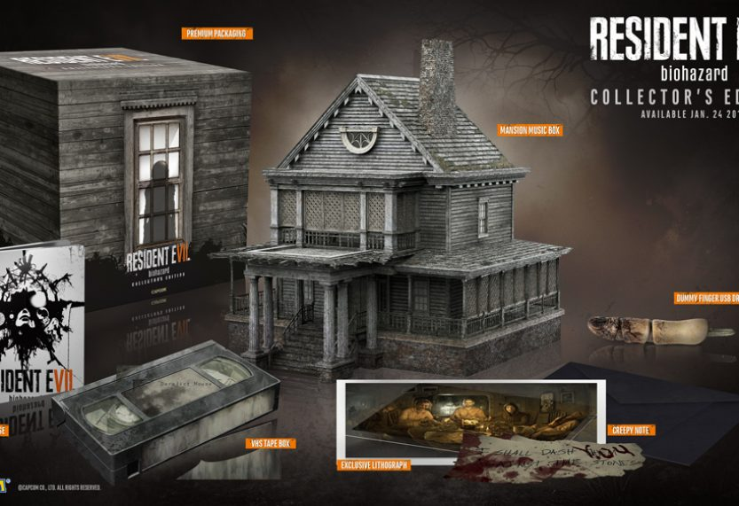 Resident Evil 7: biohazard Collector's Edition Revealed at GameStop